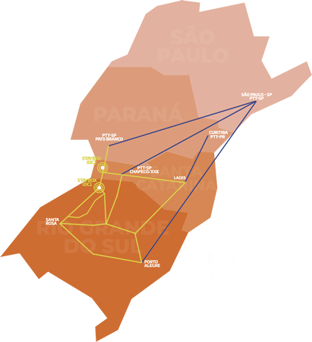 Imagem Infraestrutura de rede robusta